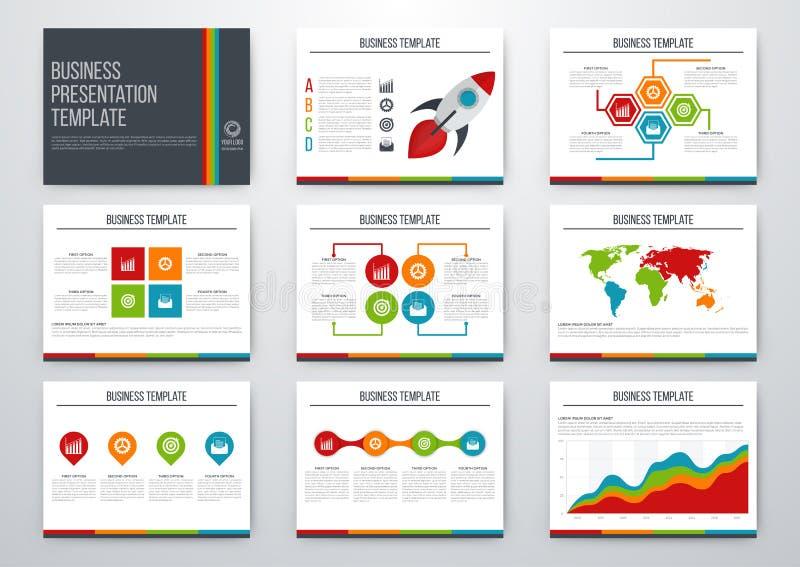 комплект элементов infographic иллюстрация штока