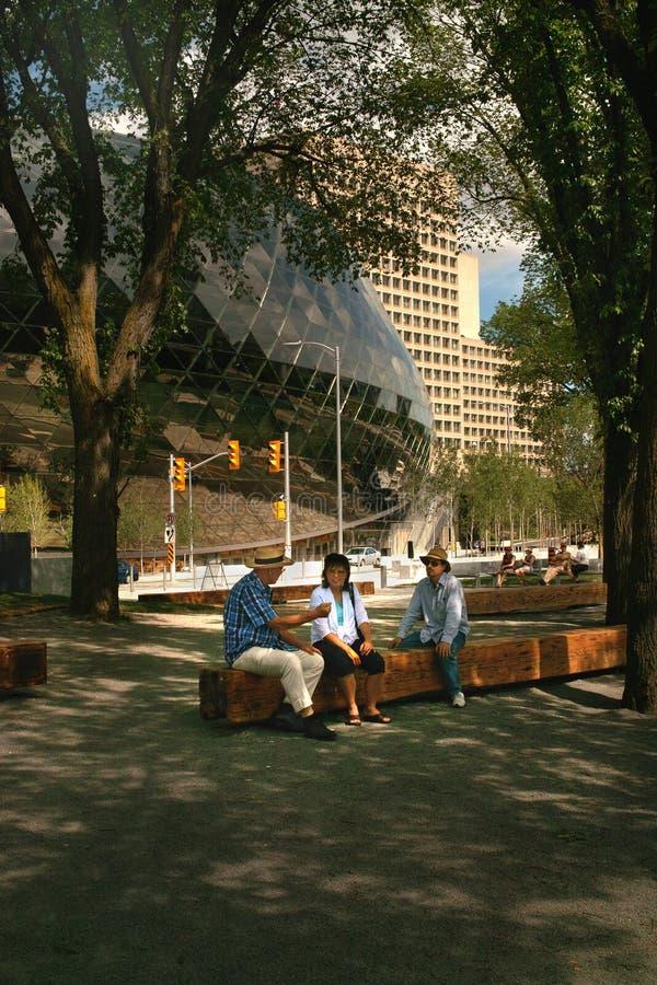 конвенция ontario ottawa центра Канады стоковое изображение rf