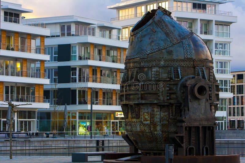 Конвертер Феникс Томаса видит Дортмунд Германию стоковое фото