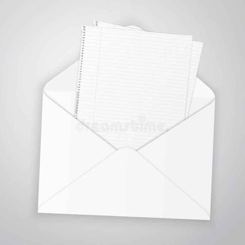 Конверт иллюстрация штока