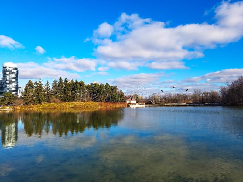 Кондо: пейзаж в Канаде стоковые фото