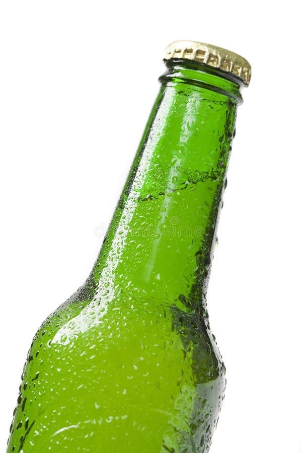 конец бутылки пива вверх стоковые фотографии rf