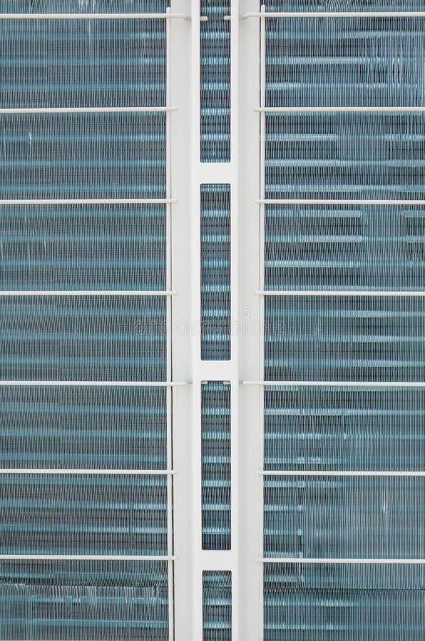 Конец-вверх блока катушки вентилятора стоковое изображение