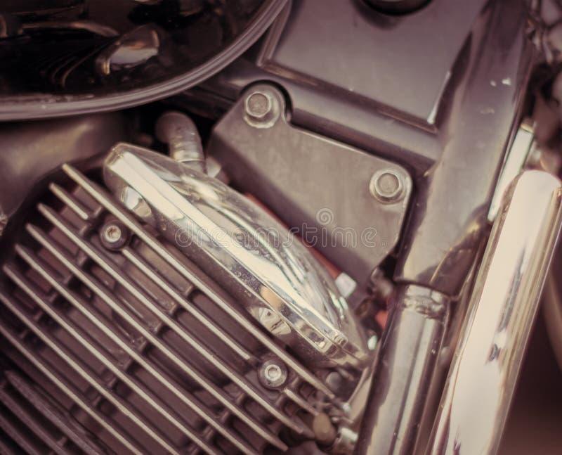 Конец-вверх лицевой части рамки мотоцикла стоковая фотография