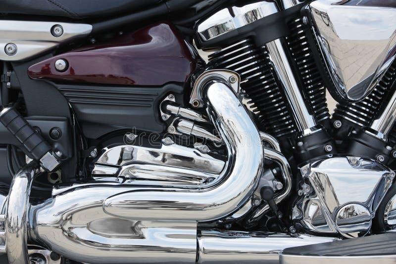 Конец-вверх мотоцилк стоковые фото