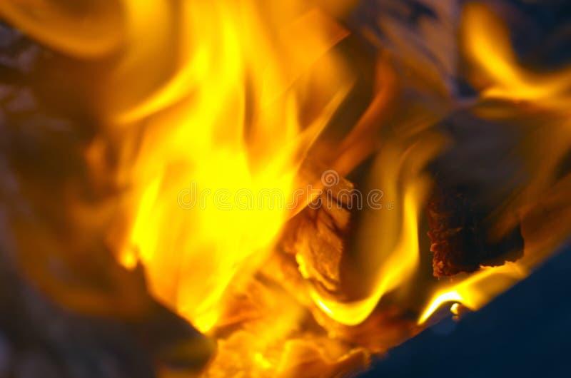 Конец-вверх огня стоковая фотография rf