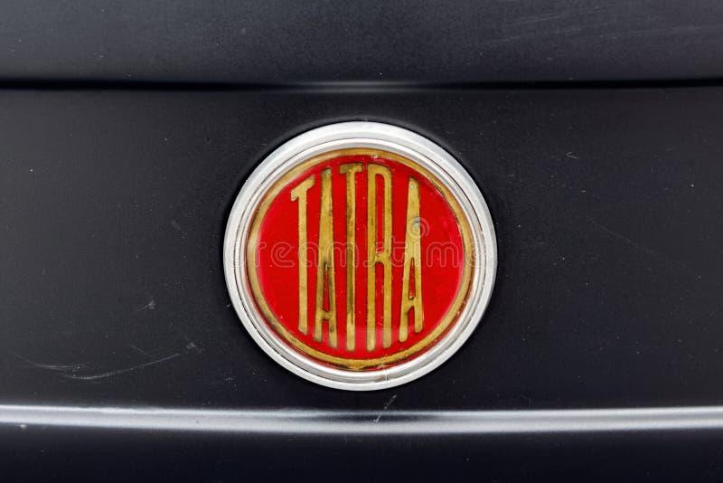 Конец вверх орнамента клобука изображения запаса Шевроле Bel Air винтажного автомобильного стоковые фото