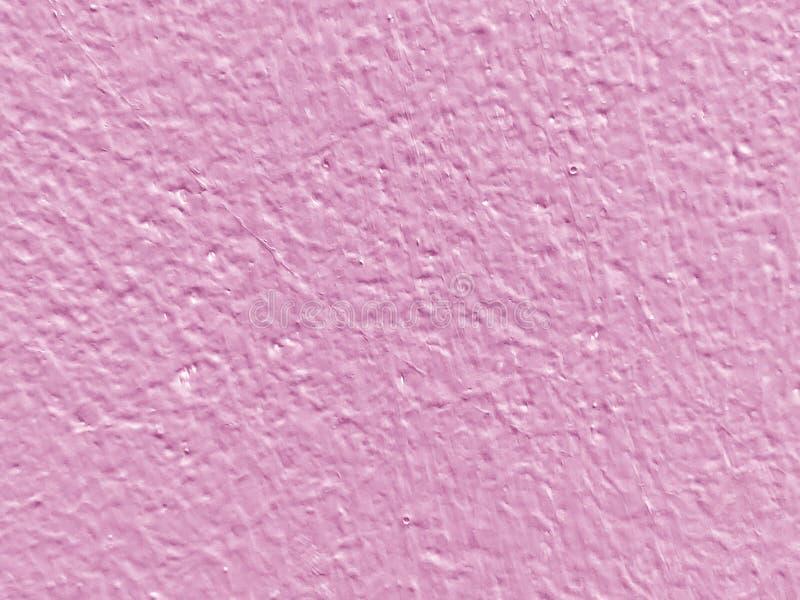 Конец вверх по розовой предпосылке текстуры бетонной стены стоковое фото