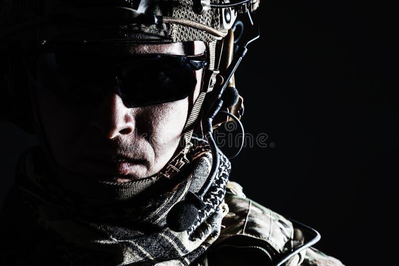 Конец-вверх ренджера армии США стоковая фотография rf
