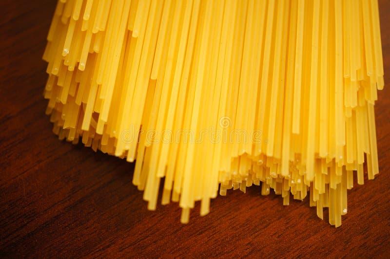 Конец-вверх спагетти стоковая фотография rf