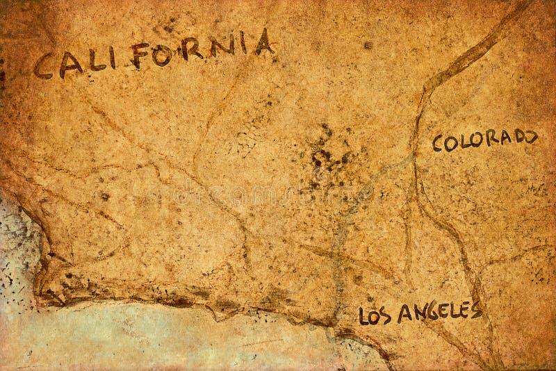 Старая карта стоковые изображения rf