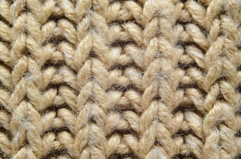 Конец-Вверх текстуры Knit стоковое изображение