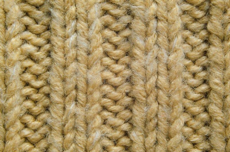 Конец-Вверх текстуры Knit стоковая фотография rf