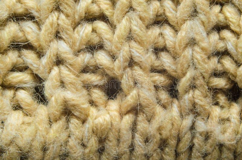 Конец-Вверх текстуры Knit стоковые фото