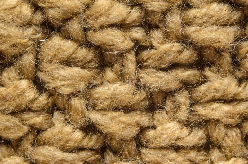 Конец-Вверх текстуры Knit стоковое фото rf