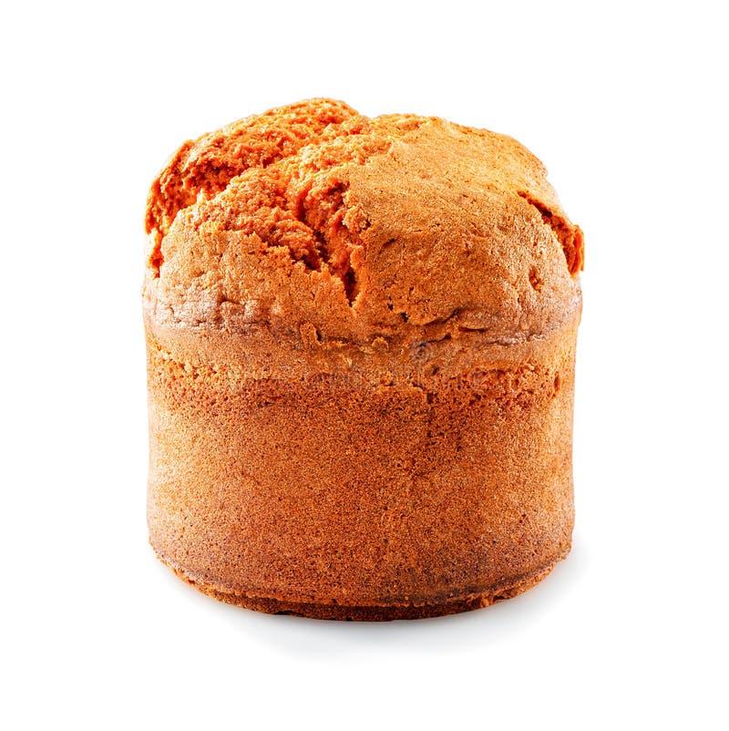 Конец-вверх торта изолированный на белой предпосылке стоковые фотографии rf