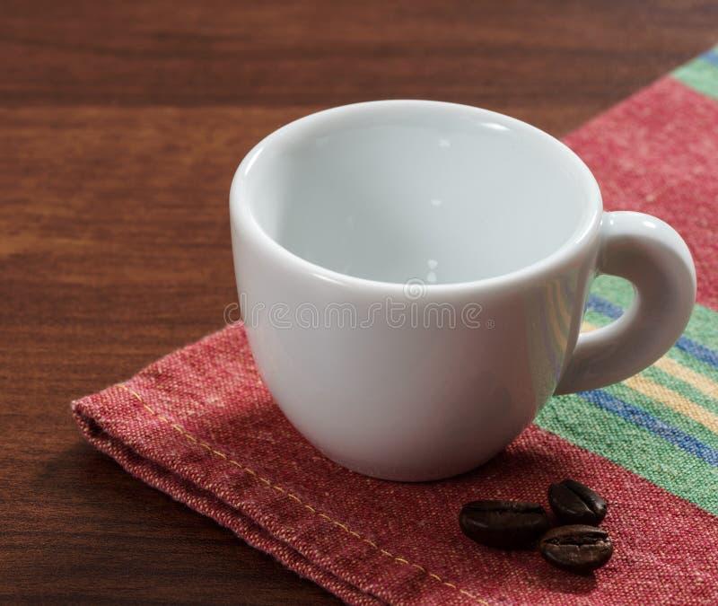 Конец-вверх эспрессо кофе стоковая фотография rf