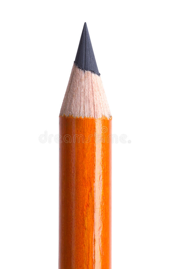 Конец верхней части карандаша вверх стоковые фото