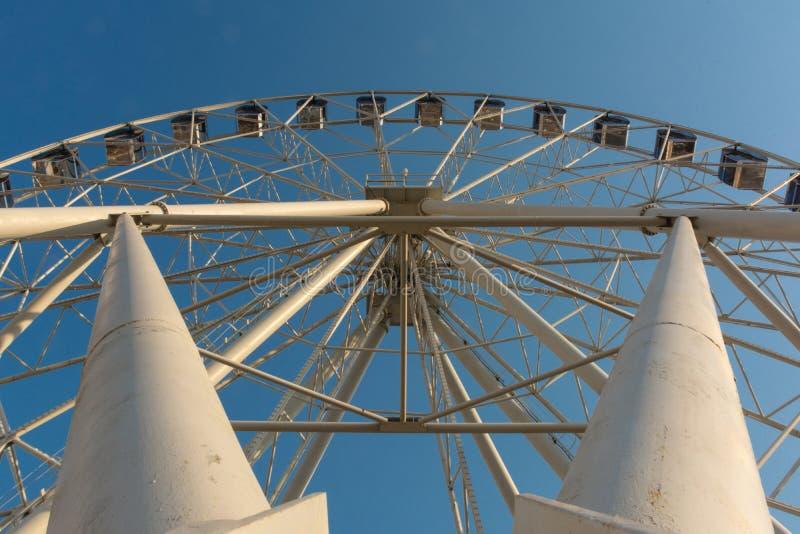 Конец колеса Ferris - вверх стоковая фотография