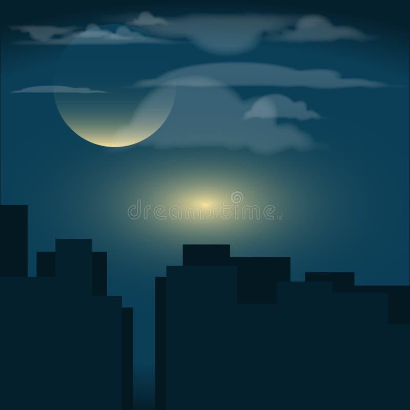 Конец ночи Восход солнца стоковое изображение