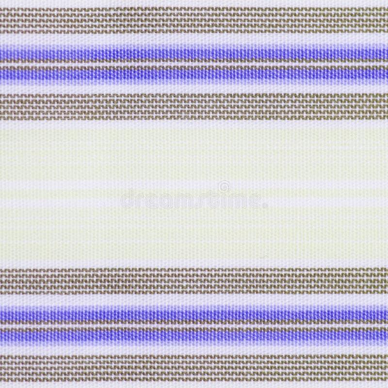 Конец предпосылки ткани нашивок вверх стоковое фото rf
