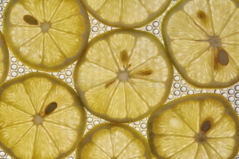 Конец плодоовощ лимона вверх как предпосылка стоковые изображения rf