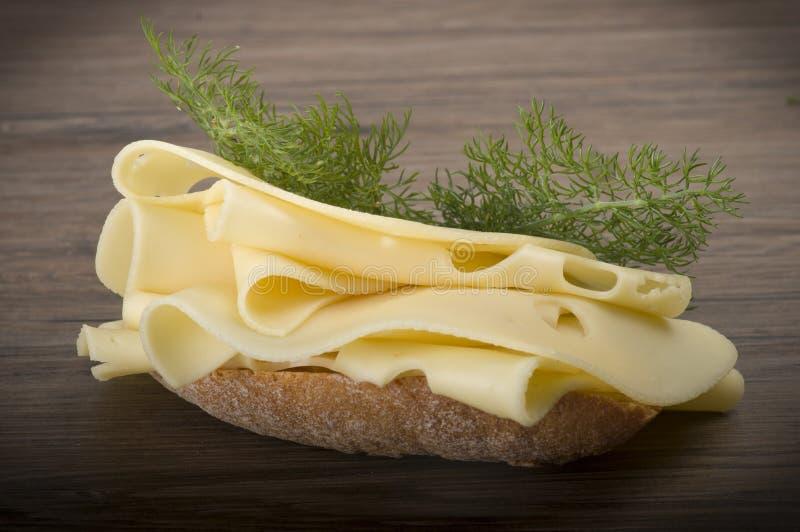 конец сыра один швейцарец квадрата части вверх стоковое фото rf