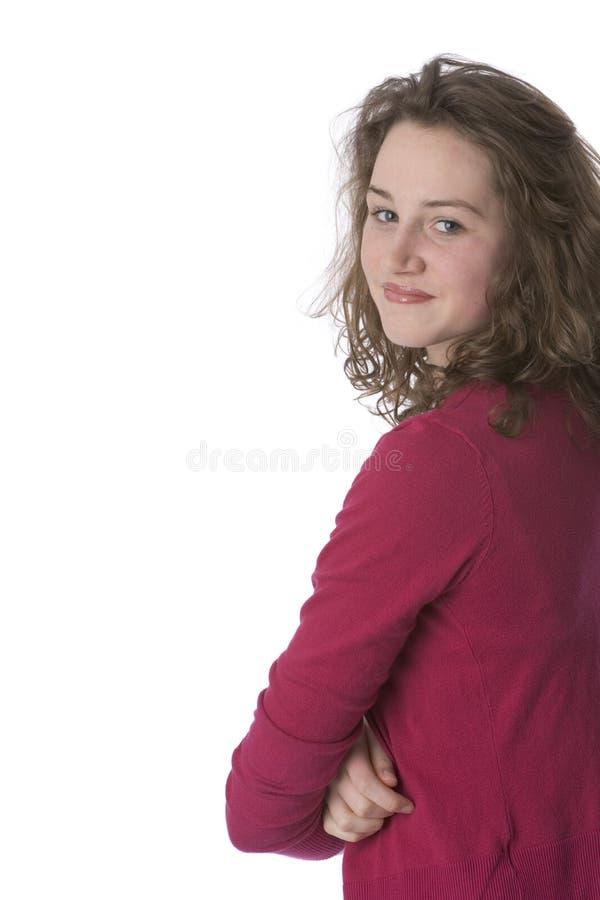 конечно собственная личность девушки подростковая стоковое фото rf