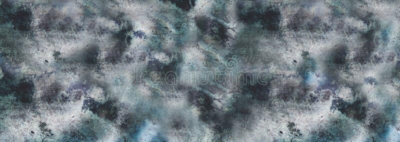Конкретная голубая винтажная предпосылка, джинсы стоковое изображение rf