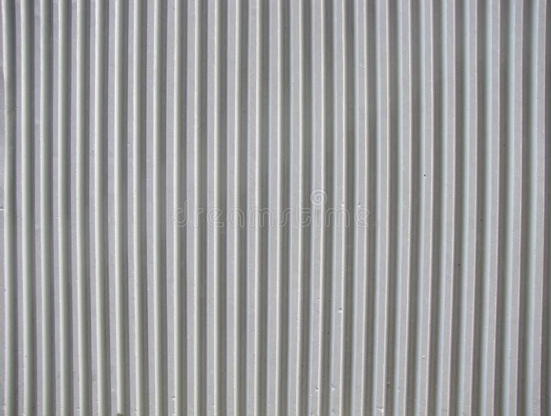 конкретная гофрированная стена стоковое фото