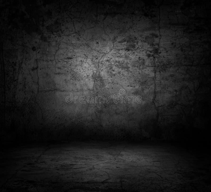 конкретная темная стена изображения пола иллюстрация вектора