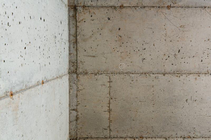 Конкретное учреждение нового дома стоковые изображения rf