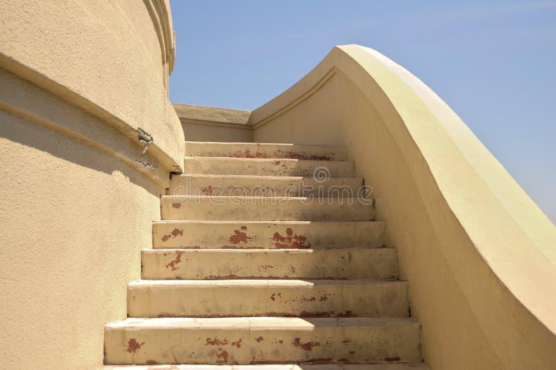 конкретные лестницы стоковые изображения