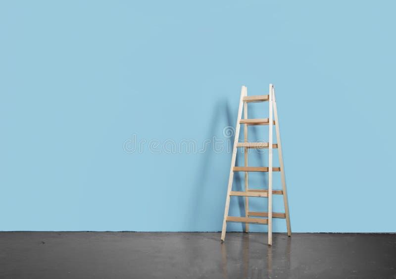 Конкретные пол и лестница стоковые изображения rf