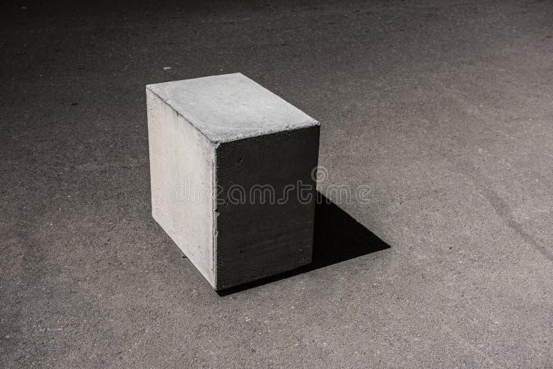 Конкретный блок куба стоковые изображения