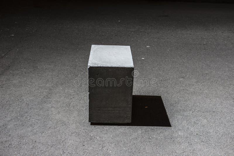 Конкретный блок куба стоковые фото