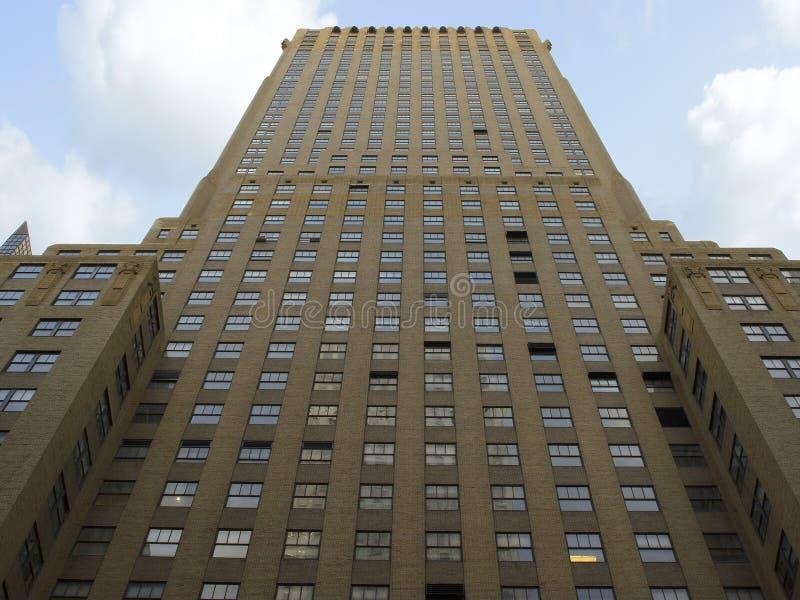Конкретный высокий подъем формируя геометрические формы в Нью-Йорке стоковые изображения rf