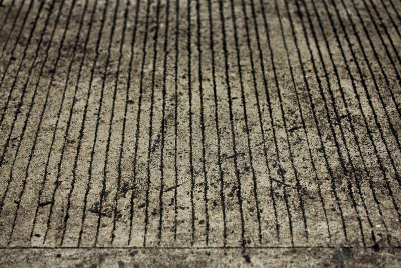 конкретный пол на пыли стоковая фотография