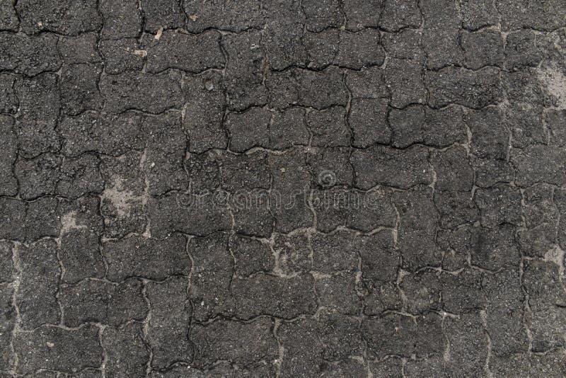 конкретный пол Плитки места для стоянки конкретные стоковые фотографии rf