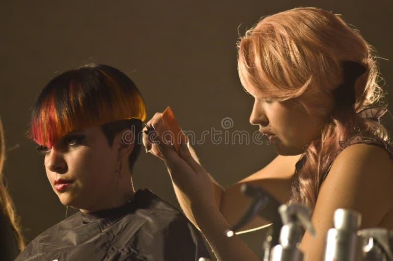 Конкуренция волос Hairapalooza стоковое изображение rf