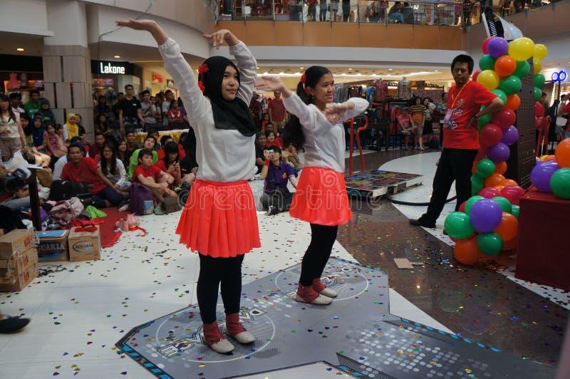 Конкуренция танцев стоковая фотография rf