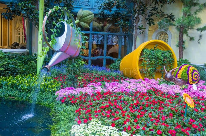 Консерватория гостиницы Bellagio & ботанические сады стоковое изображение rf