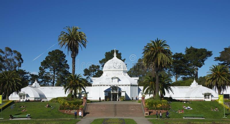 Консерватория цветков, Сан-Франциско стоковая фотография