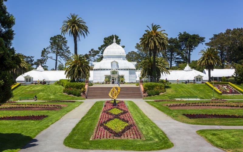 Консерватория цветков, Golden Gate Park стоковое фото