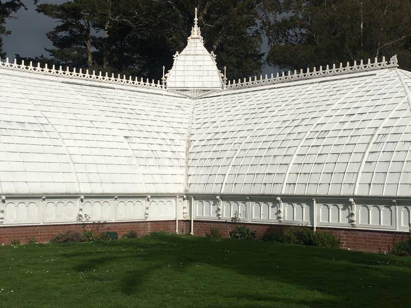 Консерватория цветков, Golden Gate Park, Сан-Франциско, 2 стоковые изображения