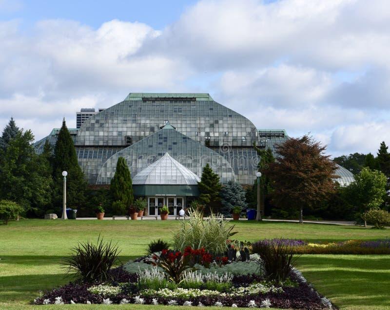Консерватория Lincoln Park стоковое фото rf