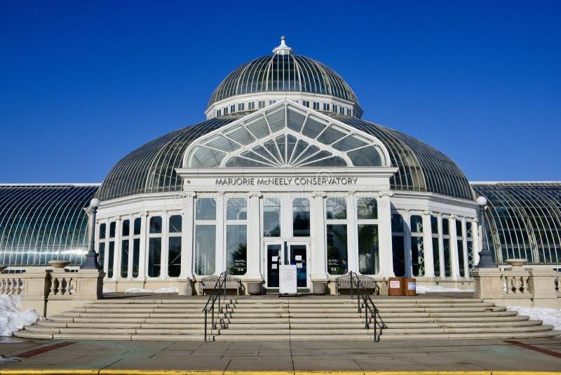 Консерватория Marjorie McNeely стоковое изображение