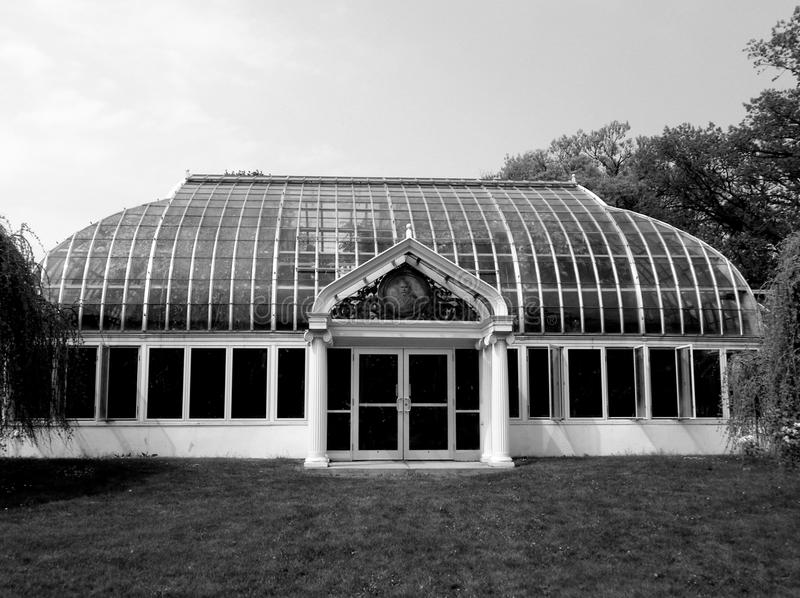 Консерватория Rochester Highland Park Lamberton стоковое изображение