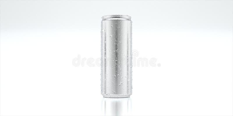 Консервная банка модель-макета алюминиевая стоковые фотографии rf