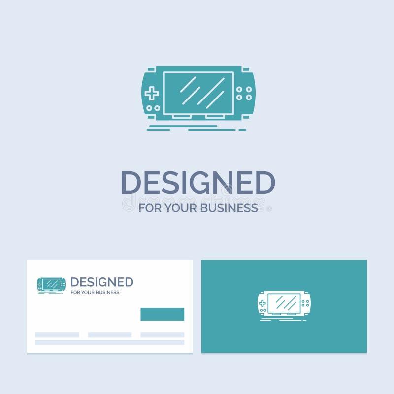 Консоль, прибор, игра, игра, символ значка глифа логотипа дела psp для вашего дела r бесплатная иллюстрация